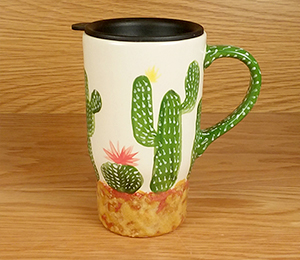 Colorado Springs Cactus Travel Mug