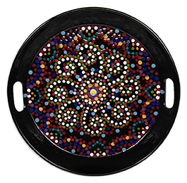 Colorado Springs Mosaic Mandala Tray