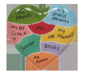 Colorado Springs Map Of My Heart