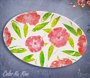 Colorado Springs Floral Paper Stamping
