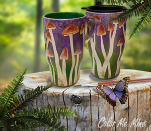 Colorado Springs Mushroom Mugs
