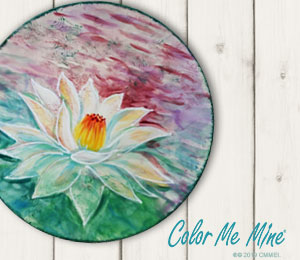 Colorado Springs Lotus Flower Plate