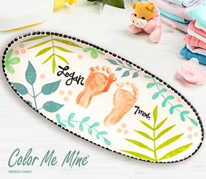 Colorado Springs Tropical Baby Tray