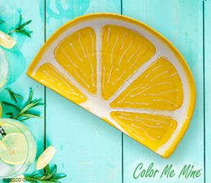 Colorado Springs Lemon Wedge