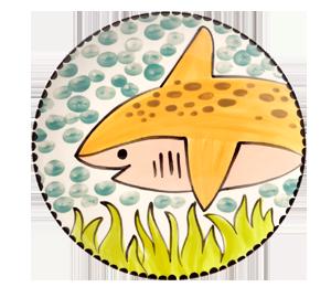 Colorado Springs Happy Shark Plate