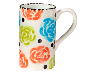 Colorado Springs Simple Floral Mug