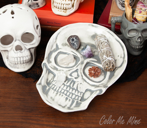 Colorado Springs Vintage Skull Plate