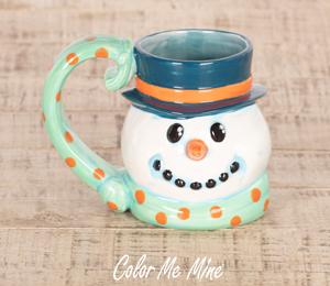 Colorado Springs Snowman Mug