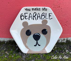 Colorado Springs Bearable Plate