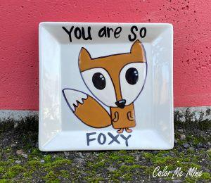 Colorado Springs Fox Plate
