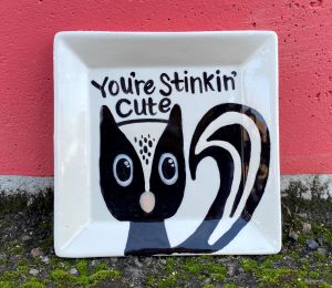 Colorado Springs Skunk Plate