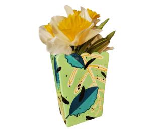 Colorado Springs Leafy Vase