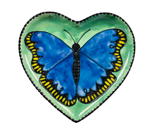 Colorado Springs Butterfly Plate